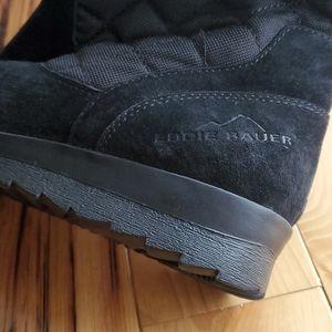 Eddie bauer wedge boots